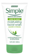 Moisturising Facial Wash Limpieza Humectante Facial Simple