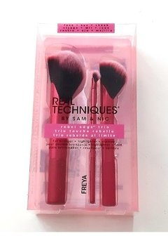 Rebel Edge Trio Set De Brochas Real Techniques 1781 - FreyaMood