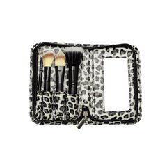 Set De 4 Brochas Rostro - Animal Print - Fascino