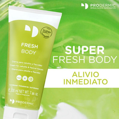 Super Fresh Body Anticelulítico Reafirmante Prodermic 200ml - comprar online
