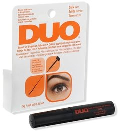 Adhesivo Pegamento Duo Pestañas Postizas Brush-on Sin Latex Negro
