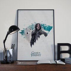 Jon Snow - Game of Thrones - Loja Stupendo - Quadros decorativos