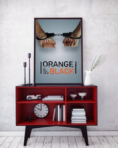 Orange Is The New Black - Loja Stupendo - Quadros decorativos