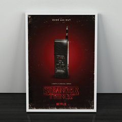 Stranger Things - Walkie Talkie - Loja Stupendo - Quadros decorativos