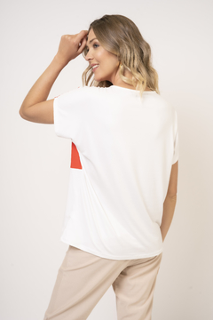Remera de Modal tricolor super soft Nylon (23024) en internet