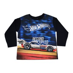 CAMISETA M/LONGA T.4 HOT WHEELS