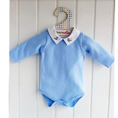 BODY GOLA BORDADA BABY FASHION MNO T.1/6M