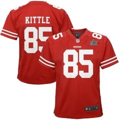 SB LIV - GEORGE KITTLE - SAN FRANCISCO 49ERS JERSEY