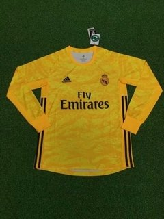 CAMISA REAL MADRID GOLEIRO LONG-SLEEV 19/20