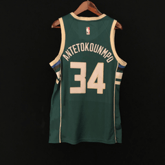 Milwaukee Bucks - icon edition jersey on internet