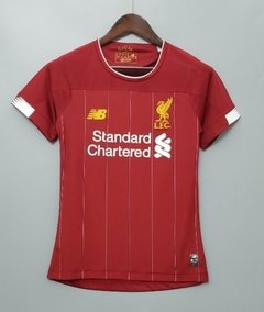 Camisa Liverpool feminina home 19/20 on internet