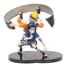 ACTION FIGURE SASUKE & NARUTO HIGH QUALITY MODEL