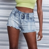 Denim Shorts - Labellamafia