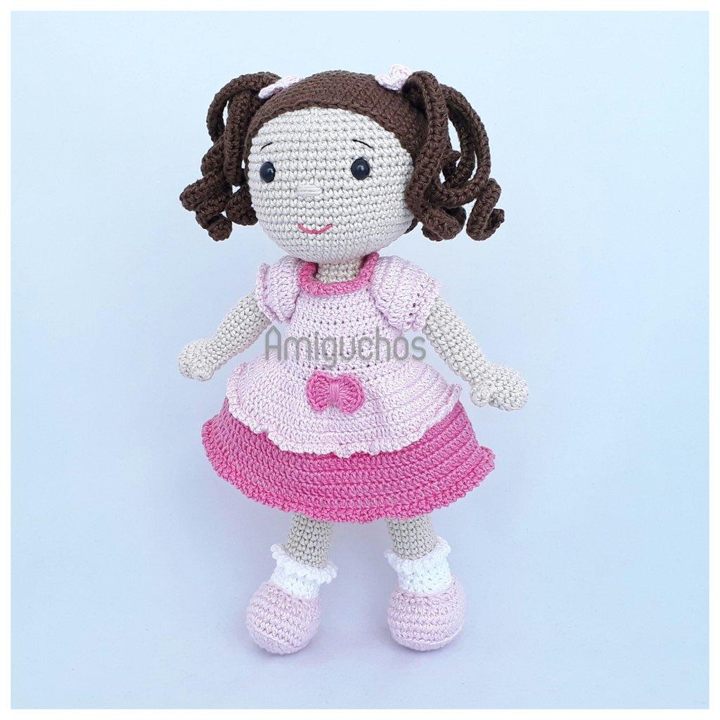 Ursinho De Pelúcia Crochê Amigurumi Com Nome Personalizado - R ... | 1024x1024