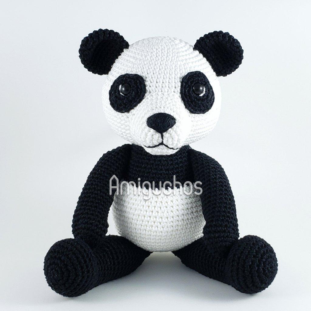Amigurumi Panda Em Crochê - Decoração Quarto Bebê - R$ 143,00 em ... | 1024x1024