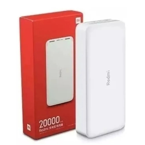 CARREGADOR PORTÁTIL XIAOMI PB200LZM 20000mah REDMI POWER BANK
