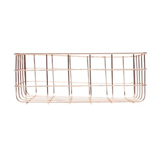 CESTA FERRO COPPER WIRE SQUARE ROSE GOLD
