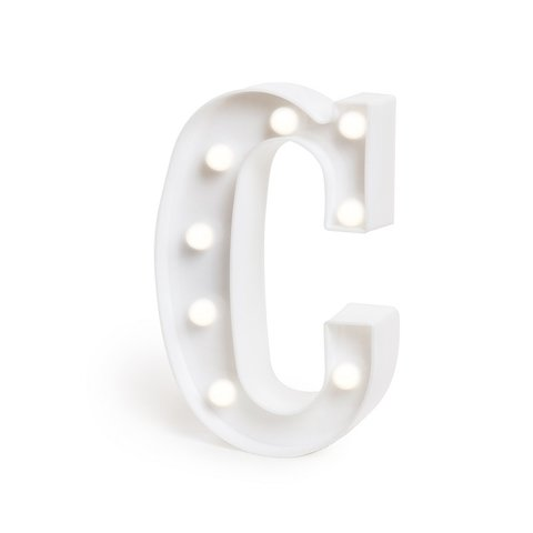 "LETRA LUMINOSA LED 3D ""C"""