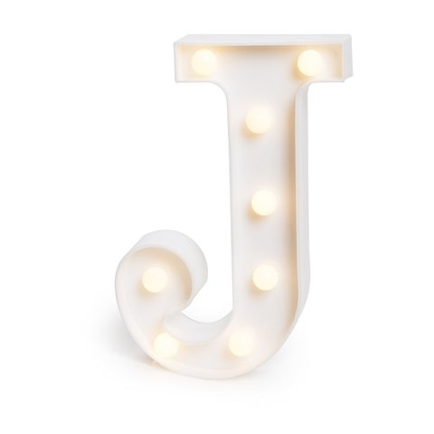 "LETRA LUMINOSA LED 3D ""J"""