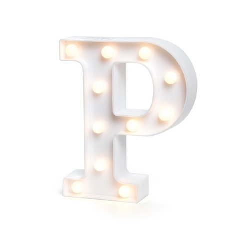 "LETRA LUMINOSA LED 3D ""P"""
