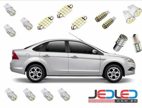 Kit Lampadas Led Focus Tipo Xenon