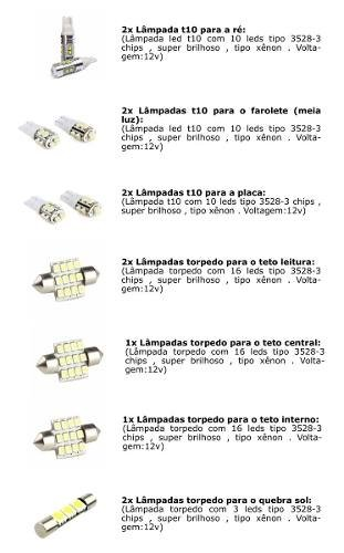 Kit Lampadas Led Tipo Xenon Outlander
