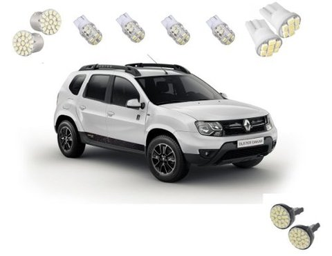 Kit Lampadas Led Tipo Xenon Renault Duster