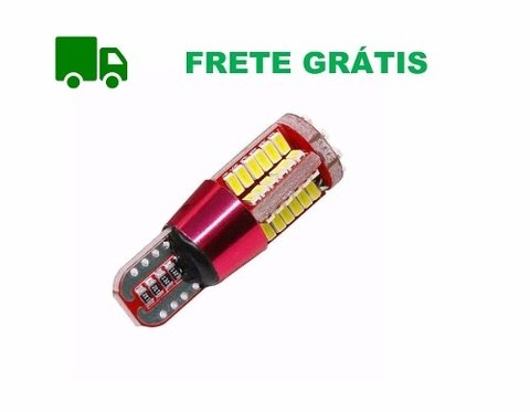 Led T10 57 Leds Farolete Led Meia Luz Polo