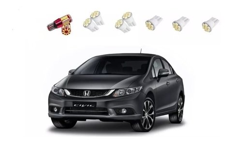 Kit Lampadas Led Honda Civic Lxs 2015