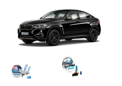 Kit Lampadas Philips Crystal Vision Baixo/milha Bmw X6