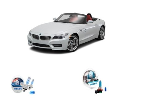 Kit Lampadas Philips Crystal Vision Baixo/milha Bmw Z4