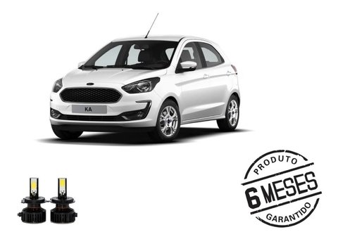 Kit Lampadas Super Led Tech One H4 Farol Ford Ka 15-19