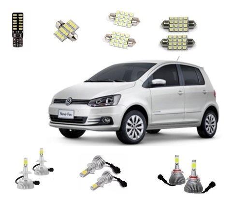 Kit Super Led Farois + Leds Fox 2014