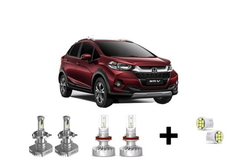 Kit Super Led Philips Ultinon + Brinde Honda Wr-v