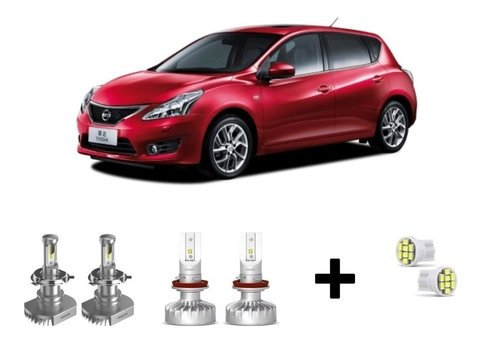 Kit Super Led Philips Ultinon + Brinde Nissan Tiida