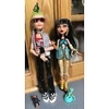 Monster High Deuce & Cleo with pets