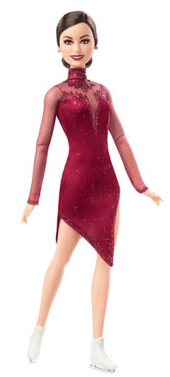 Barbie doll Tessa Virtue - comprar online