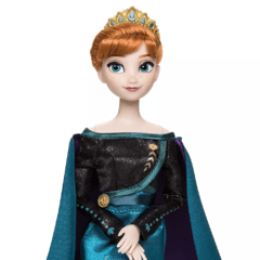 Queen Anna and Snow Queen Elsa Classic Doll Set - Frozen 2 - Michigan Dolls