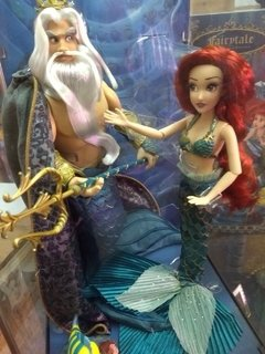 ARIEL e Triton Disney Fairytale Designer Dolls - Michigan Dolls