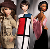 Barbie Yves Saint Laurent Mondrian - loja online