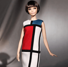 Barbie Yves Saint Laurent Mondrian