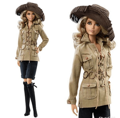Barbie Yves Saint Laurent Safari - comprar online