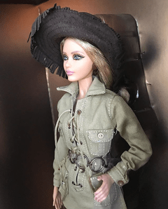 Barbie Yves Saint Laurent Safari - Michigan Dolls