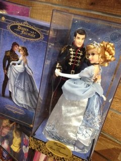 Cinderella & Prince Charming Fairytale Disney Designer Dolls - Michigan Dolls