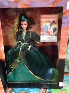 Barbie Doll Scarlett O'Hara (Green Drapery Dress) - comprar online
