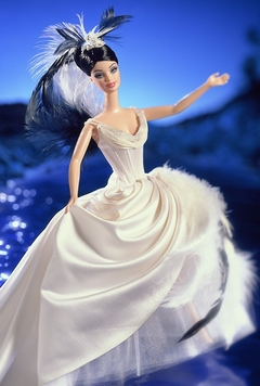 The Swan Barbie doll