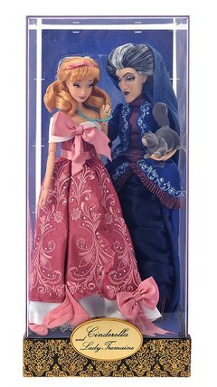 Cinderella & Lady Tremaine Disney Designer Fairytale Dolls