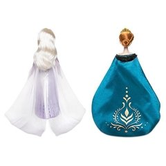 Queen Anna and Snow Queen Elsa Classic Doll Set - Frozen 2 - comprar online
