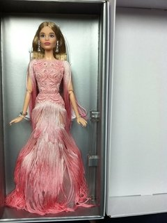 Blush Fringed Gown Barbie doll - loja online