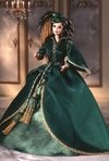 Barbie Doll Scarlett O'Hara (Green Drapery Dress)